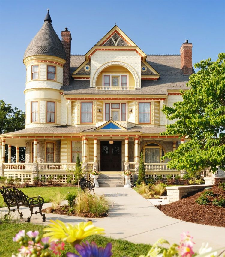 Exterior Queen Anne