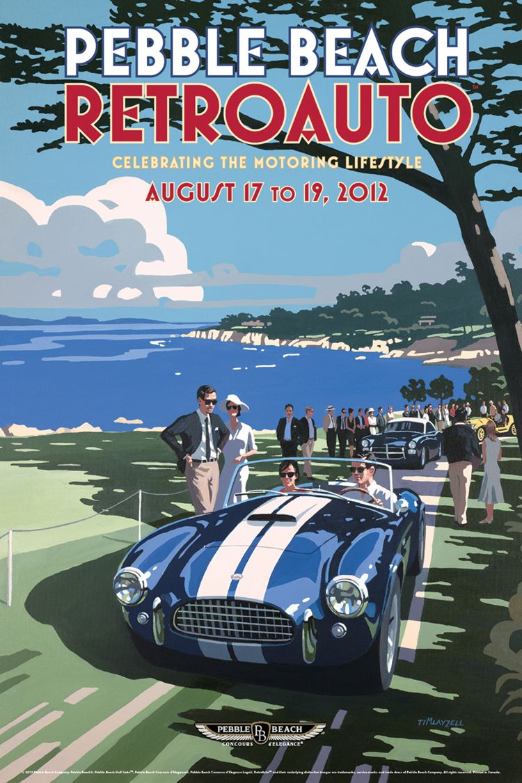 Vintage car collection at pebble beach retroauto for Pebble beach collection