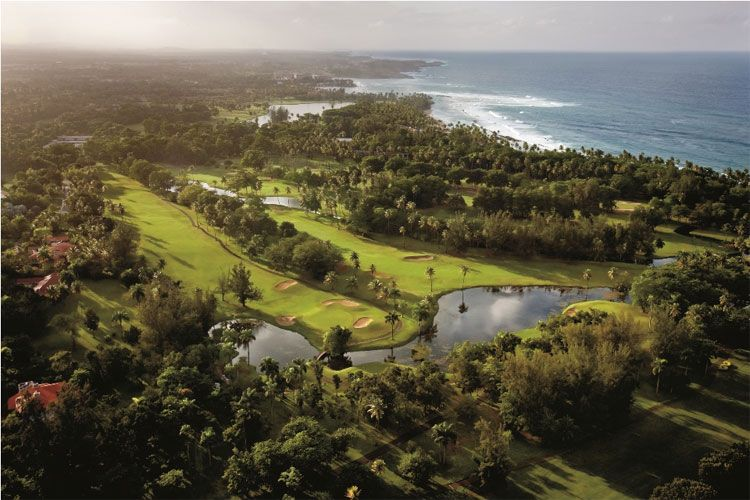 Dorado Beach, a Ritz-Carlton Reserve aerial view