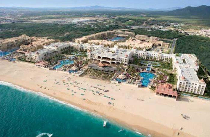 RIU Palace Cabo San Lucas aerial view