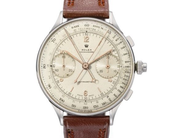 Rolex Watch 1942 Chronograph Sets New World Record