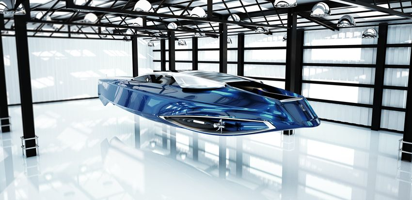 Rolls-Royce 450EX Superyacht