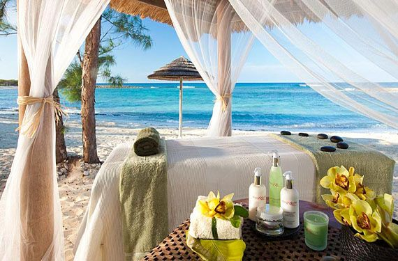 Couples retreat to sandals royal bahamian resort for for Spa weekend getaways for couples