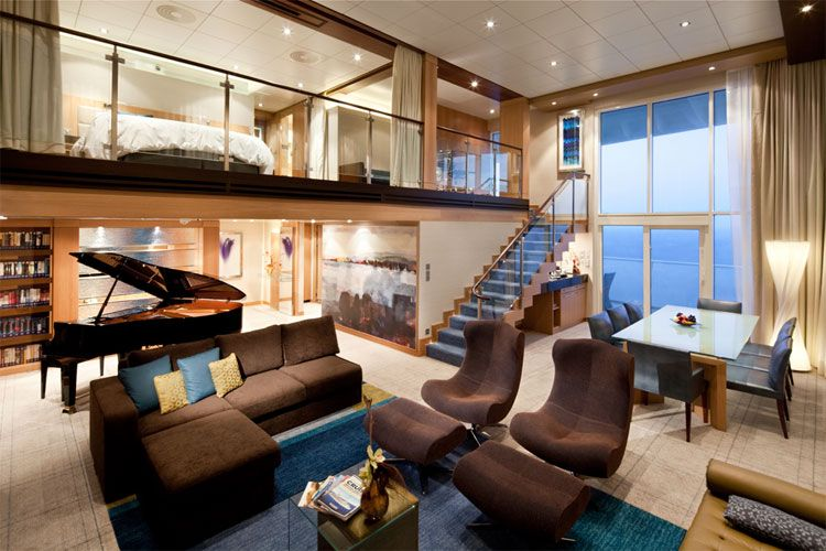 7 Cruise Ship Suites Giving 5 Star Hotel Rooms A Run For Their Money