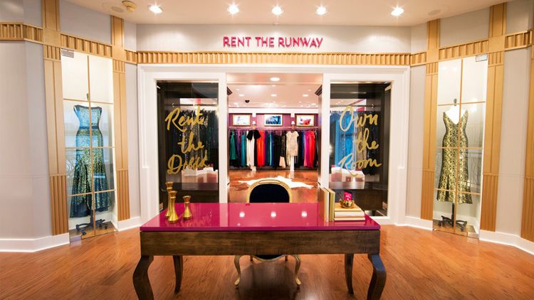 Rent the Runway at henri bendel