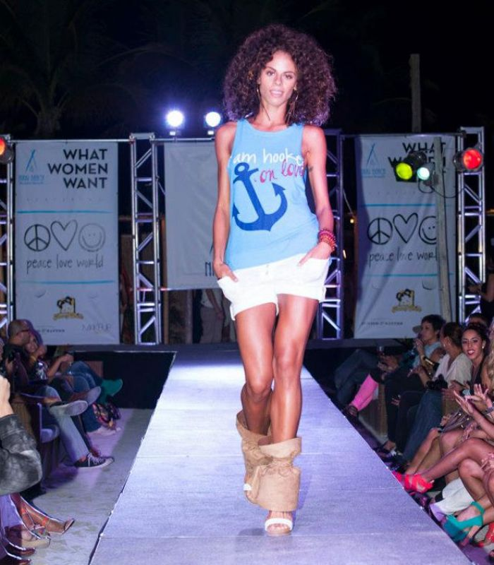 Peace Love World Runway Show