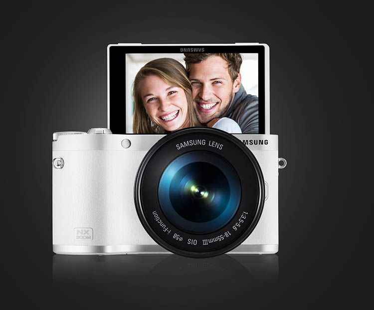 samsung NX300M smart camera