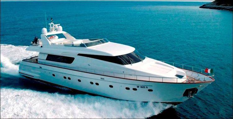 78-Foot $4M Sanlorenzo 82 Motor Yacht