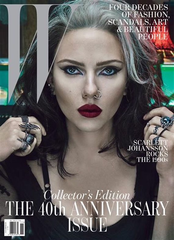 Scarlett Johansson W Cover