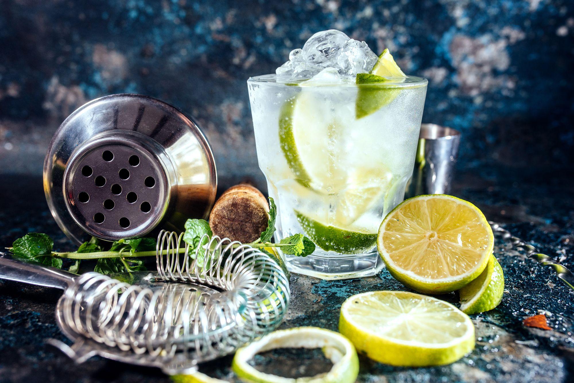 gin, spirits