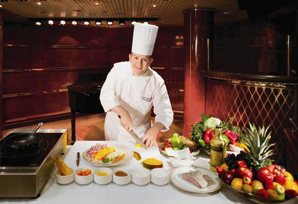 Silversea Cruise chef david bilsland