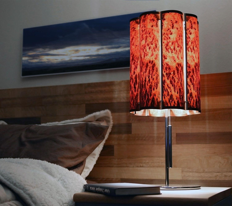 NoEnd Designs, slatewood lamp