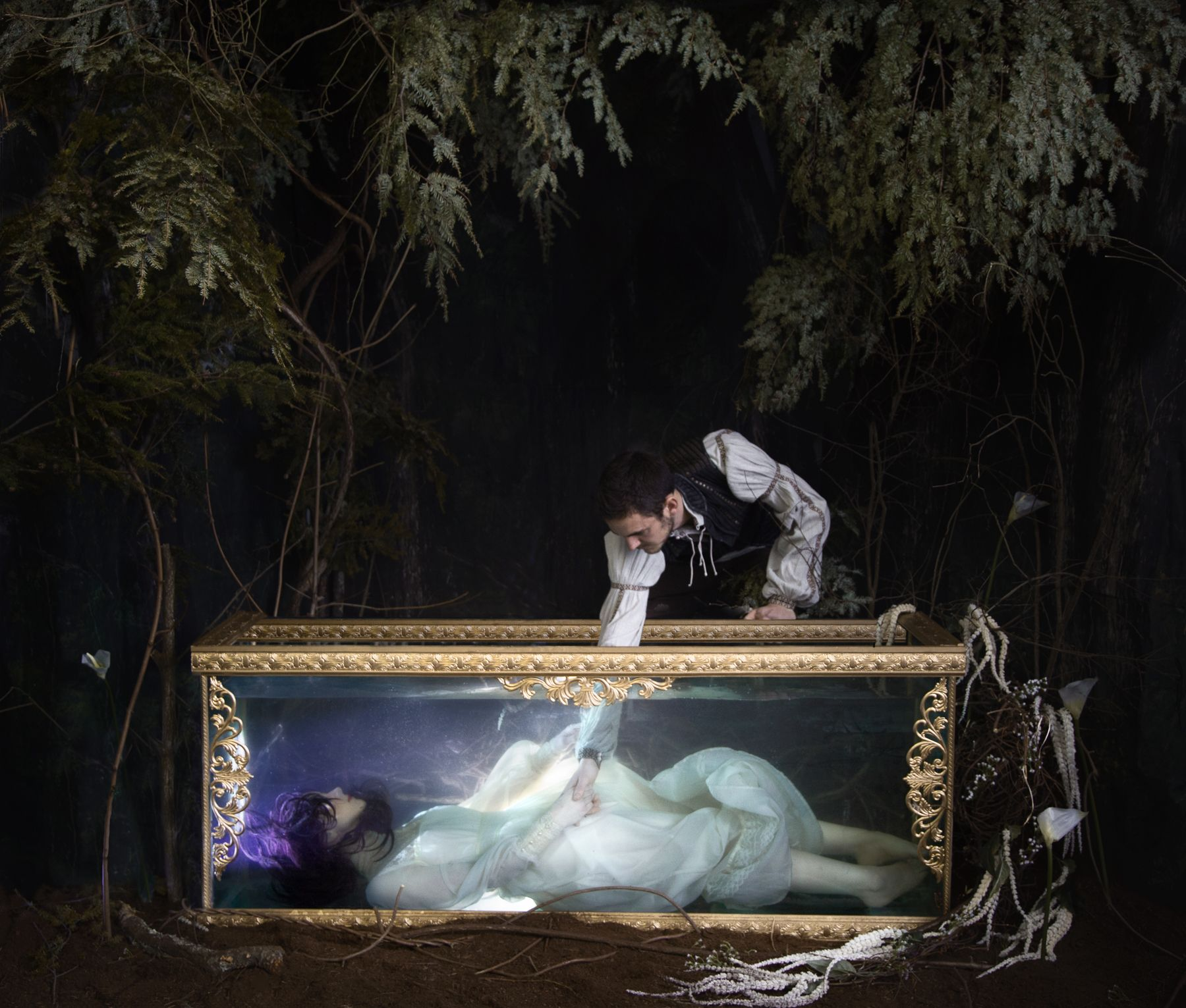Photographer Adrien Broom Tackles The Snow White Mythology In New Photo Series