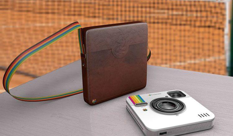 polaroid socialmatic instant camera