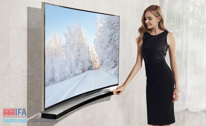 samsung TV-Matching Curved Soundbar