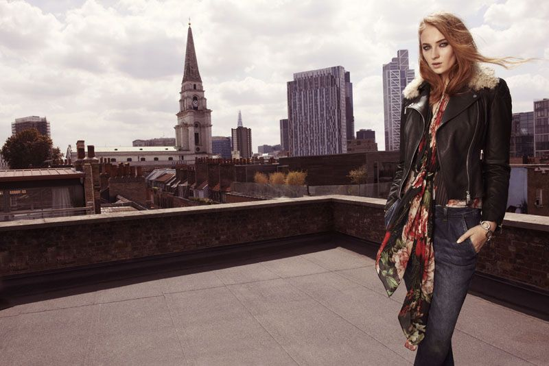 Sophie Turner for Karen Millen