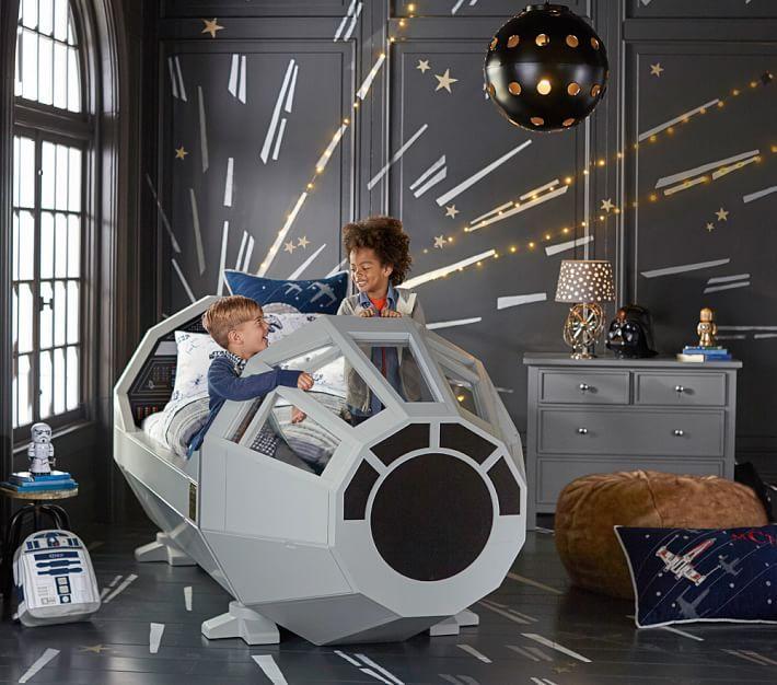 star wars, bed