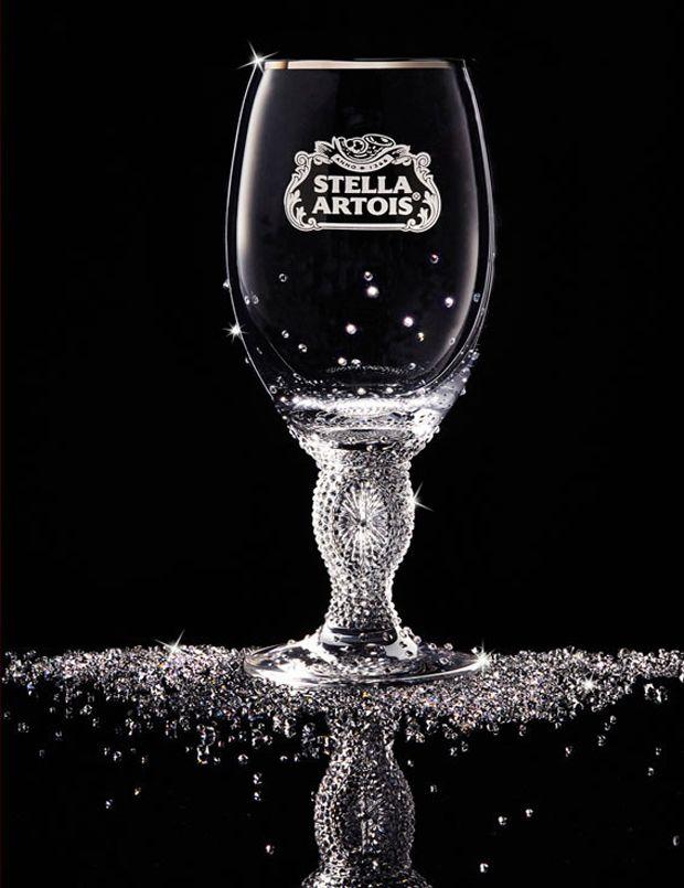 Stella Artois crystal chalice