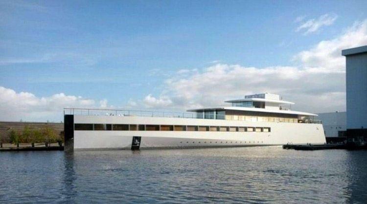 steve jobs' venus yacht