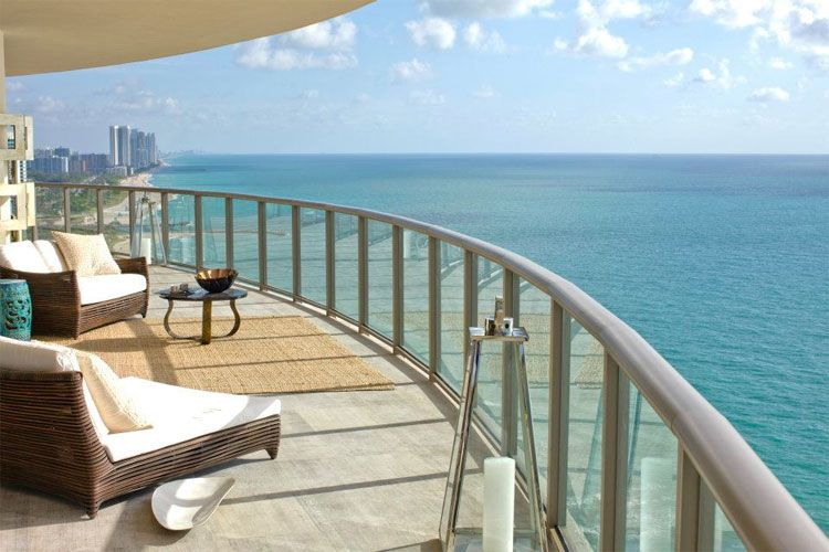 st regis bal harbour terrace ocean view