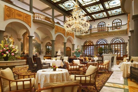 Etichetta Restaurant St. Regis Florence