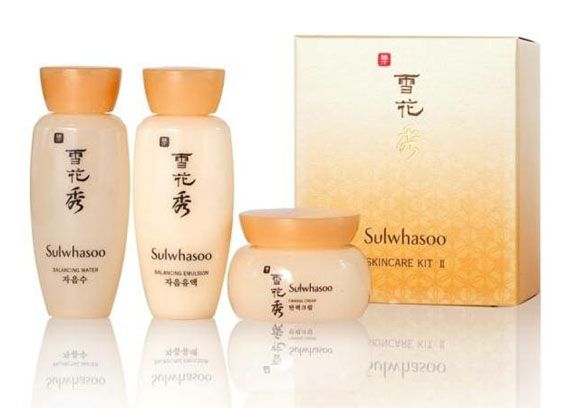 Sulwhasoo three-piece set