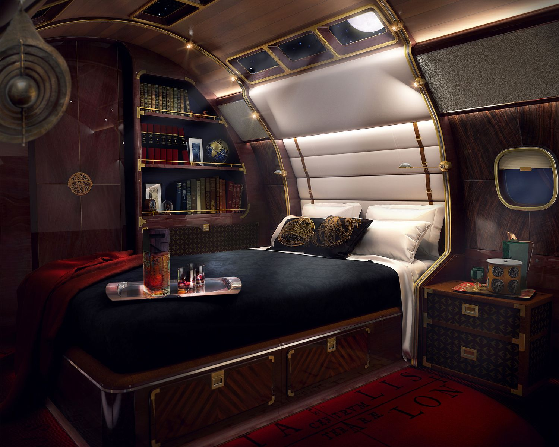 SottoStudios, skyacht one, private jet