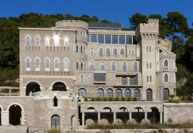 Alfred Lord Tennyson's Historic Castle on Cote d'Azur Listed at