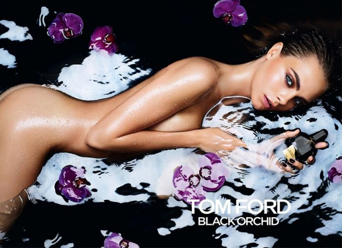 Cara Delevingne for Tom Ford