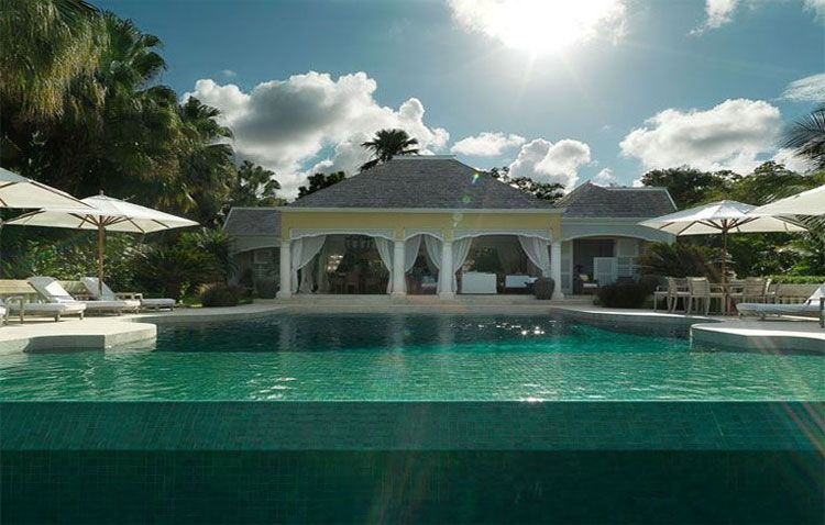 Roaring Pavilion THEE Divine infinity pool