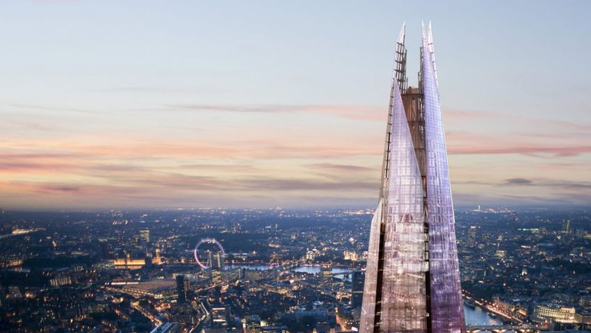 the shard london Renzo Piano