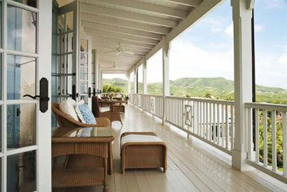 Mango Hill Greathouse veranda