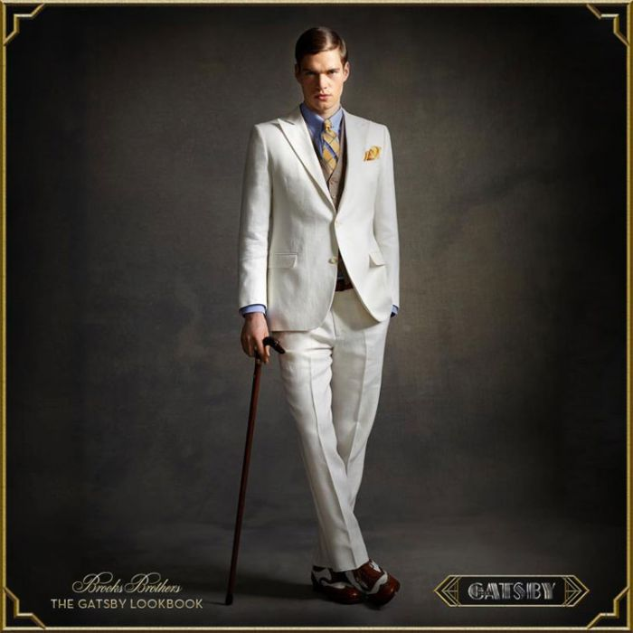 Brooks Brothers Releases Entire Gatsby-Inspired Menswear Collection