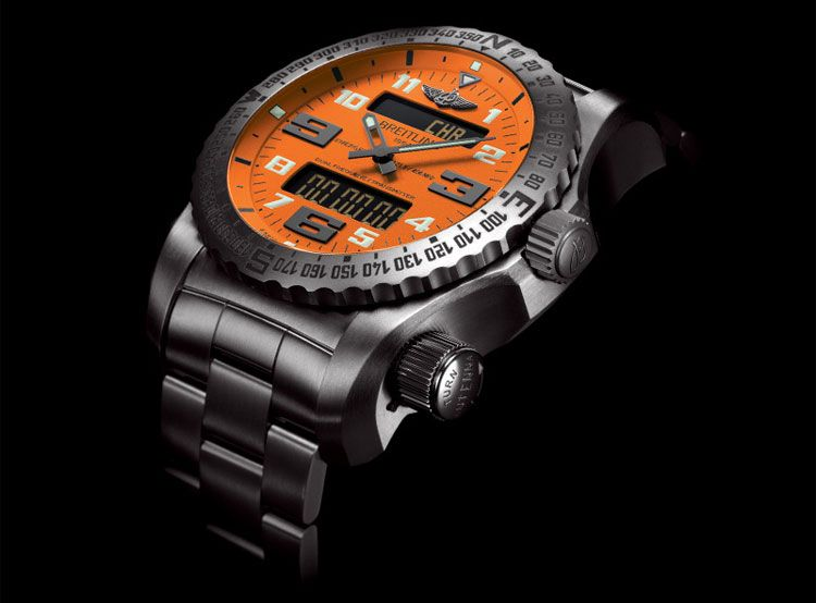 Breitling Unveils World's First Wristwatch With Dual Frequency Transmitter