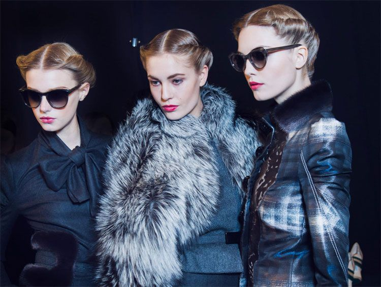 Trend Watch: Forties Flare Hits the Runway