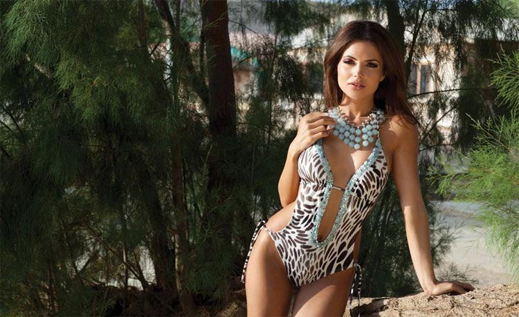 Show Off Your Wild Side in Exotic Swimwear by Agualclara