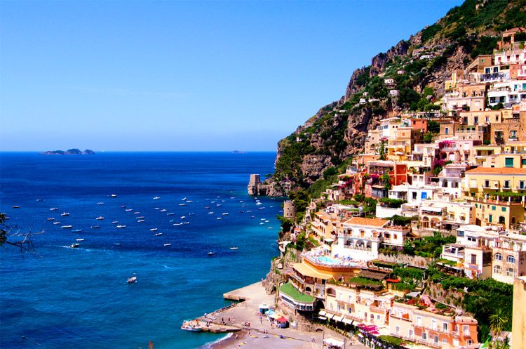 View of Amalfi