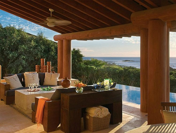Four Seasons Punta Mita Residence terrace
