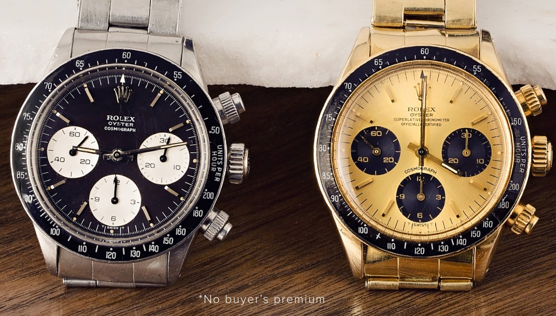 """""""The Daytona Duo"""" Auction by Bob's Watches"""