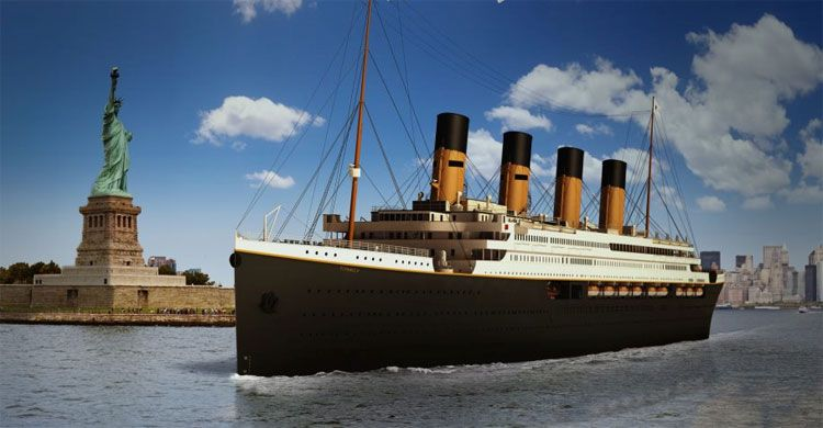 titanic II in NYC
