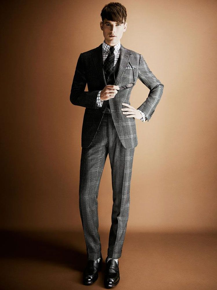 Tom Ford Menswear Sees Tweed For Fall