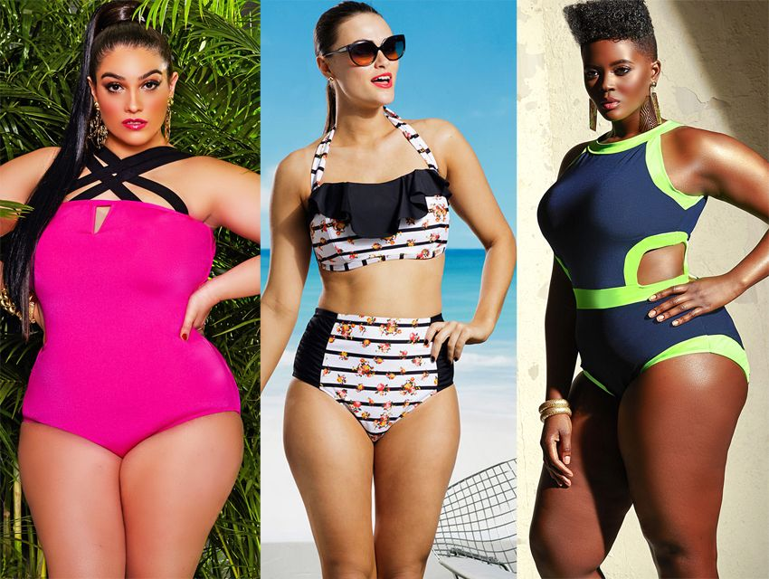 plus-sized swimwear