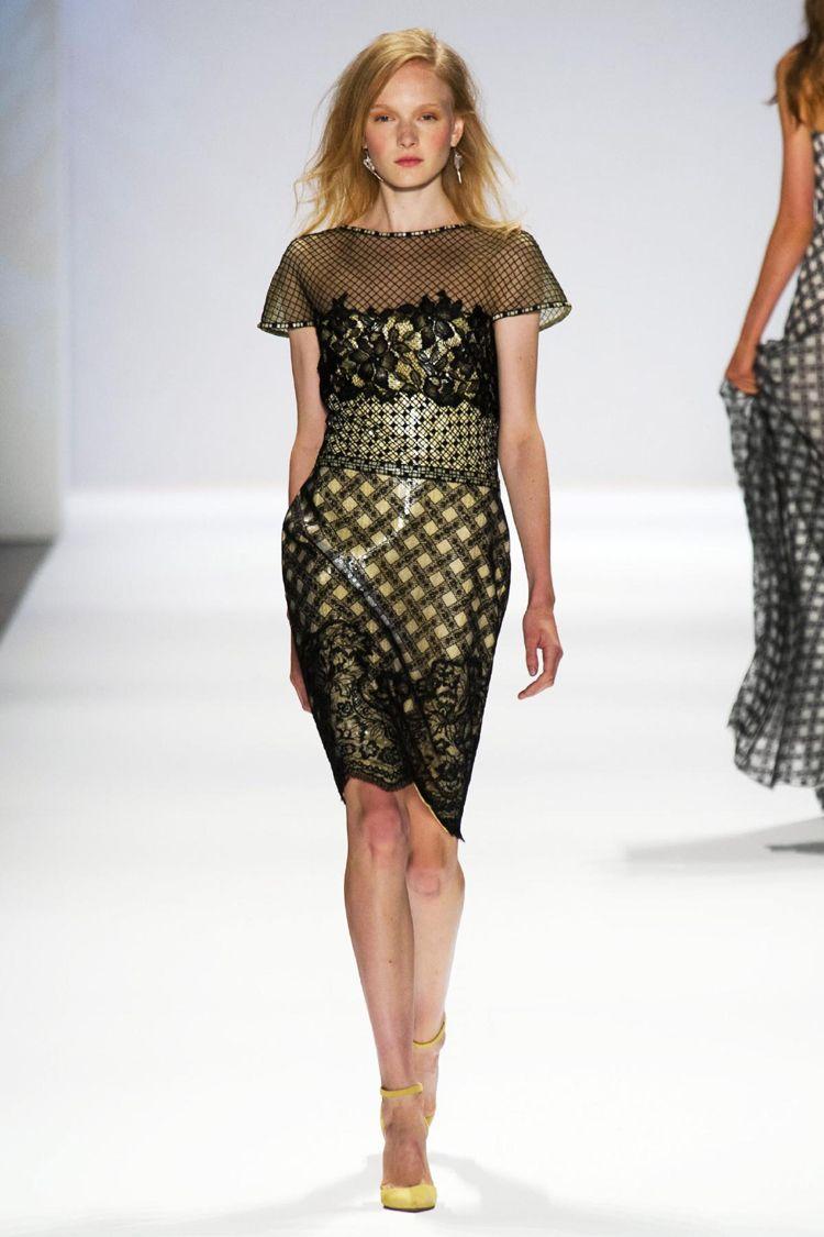Tadashi Shoji, runway show, new york fashion week