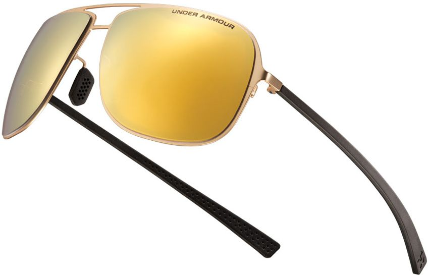 Under Armour Sunglasses Alloy Satin Gold