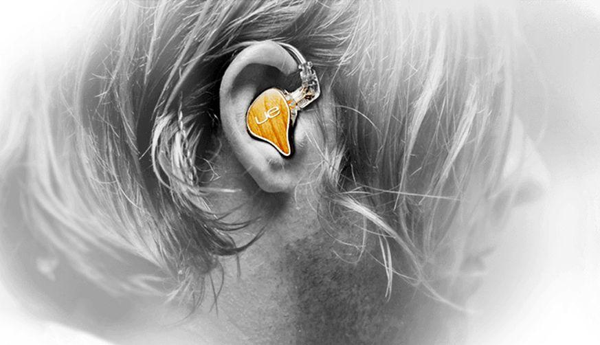 Ultimate Ears pro, earbuds