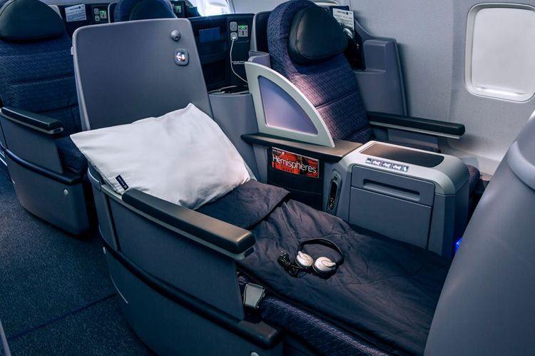 united airlines premium service ps