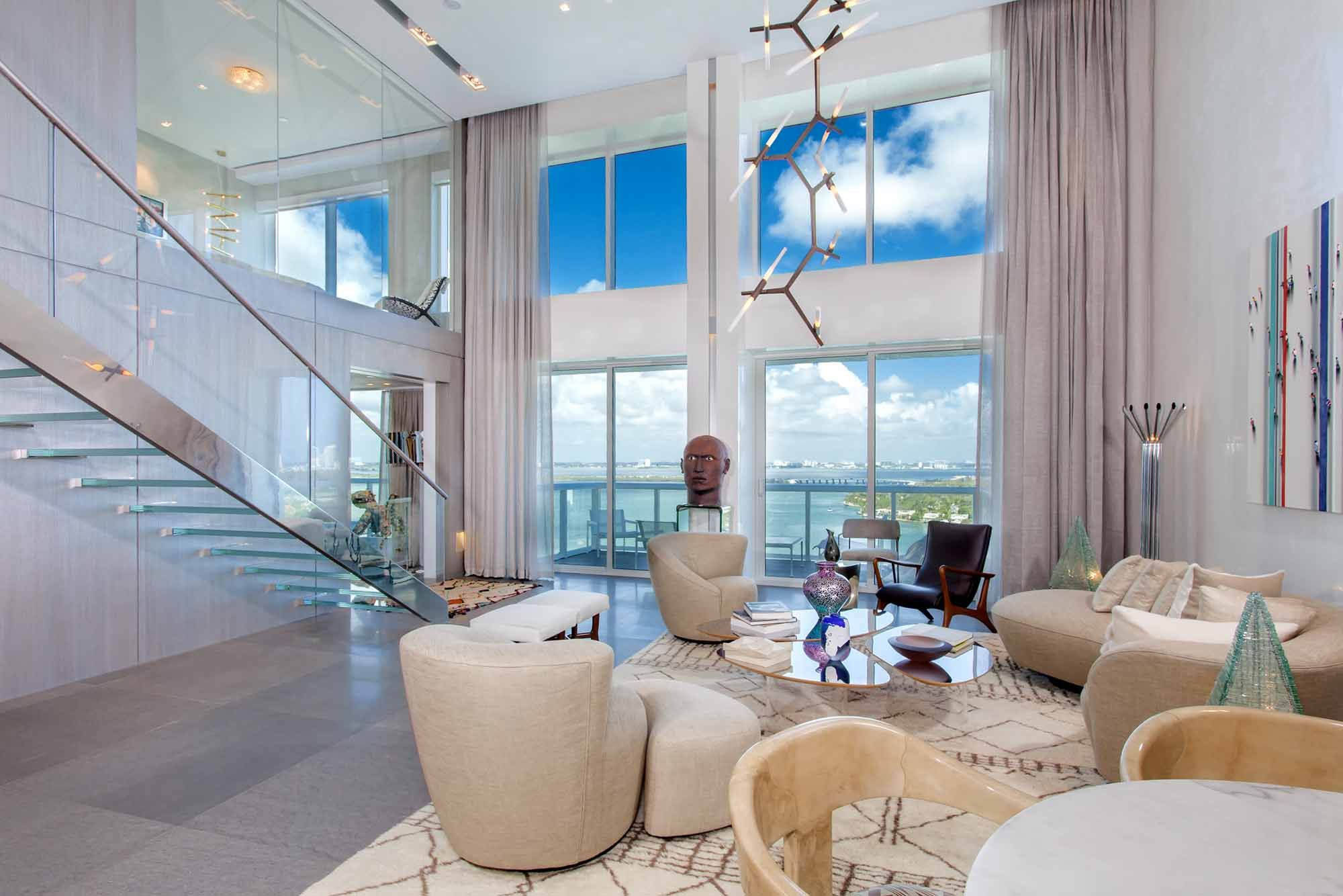 $11.7M Miami Beach Penthouse