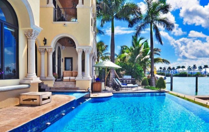 Atlantic City Hotels >> Miami Beach Luxury Villa on Palm Island From $5,400 Per Night