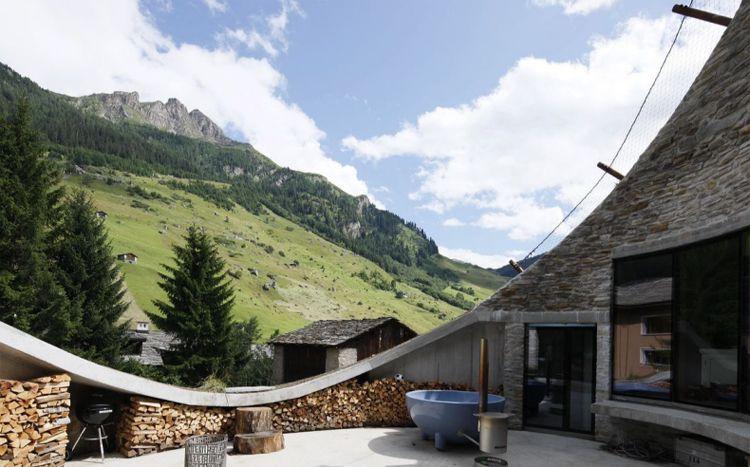 Villa Vals   Subterranean Luxury in Switzerland