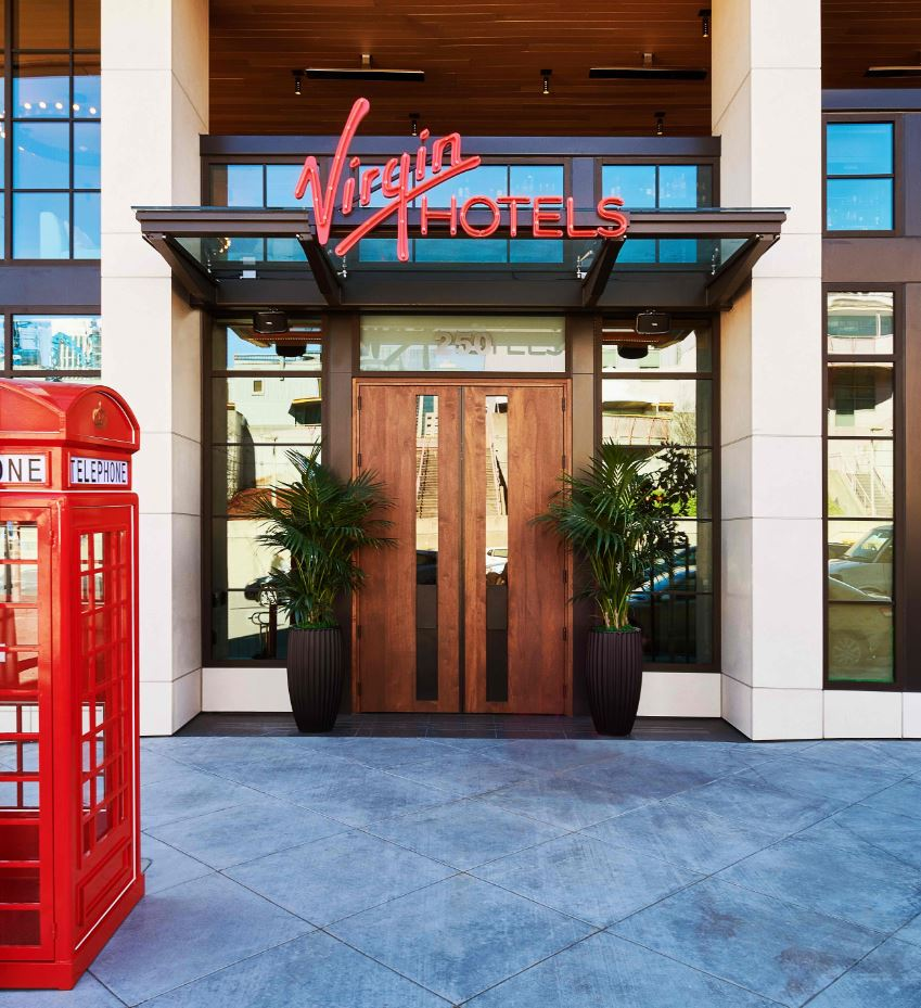 Seeing Red: Virgin Hotels San Francisco Opens In Style